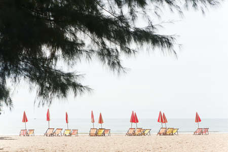 Cha- Am Beach, Thailand. photo