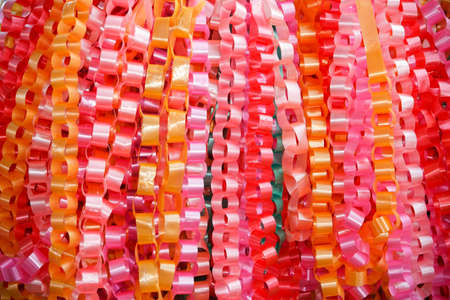 Handmade ribbons ,chain guirlande photo