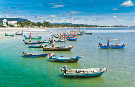 Hua Hin beach, is famous, Thailand