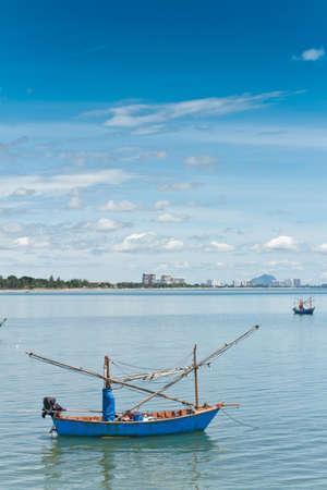 Hua Hin beach, is famous, Thailand. Stock Photo - 15373387