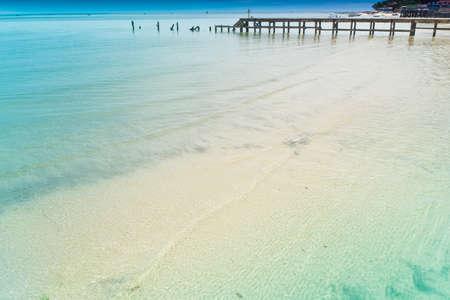 Hua Hin beach, is famous, Thailand. Reklamní fotografie