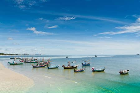 hin: Hua Hin beach, is famous, Thailand