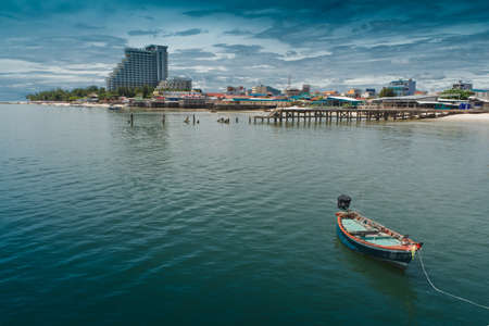 hua hin: Hua Hin beach, is famous, Thailand