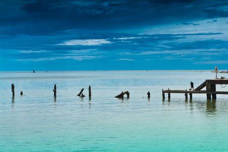 Hua Hin beach, is famous, Thailand Stock Photo - 15389822