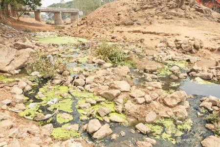 putrid: Putrid waste water canal