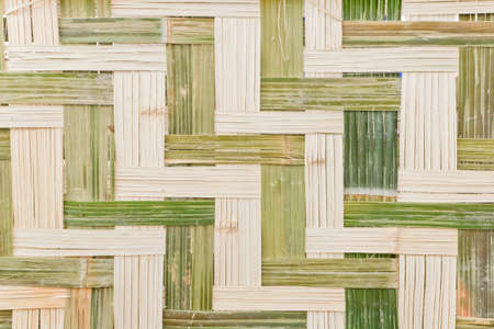 woven bamboo thai style  background