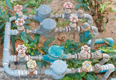 Water meter, multiple sets photo