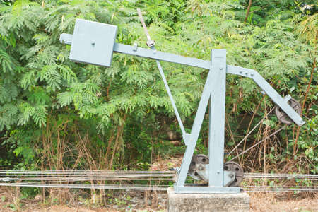 shunt: Equipment for the shunt, in Thailand Stock Photo