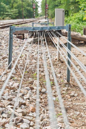 Equipment for the shunt, in Thailand Stock Photo