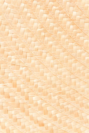 Woven bamboo hat pattern  photo