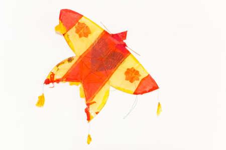 kite,on isolated Reklamní fotografie
