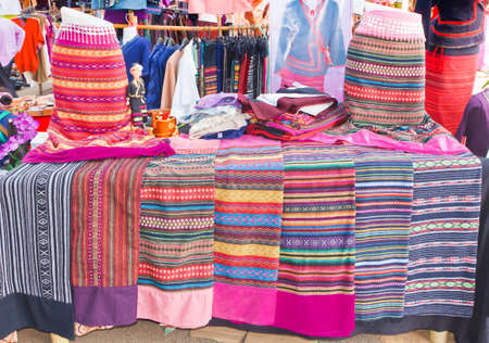 skirt, Lanna style, thailand photo