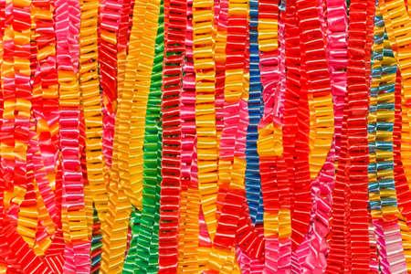 Handmade ribbons ,chain guirlande photo