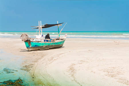 cha cha: Boat and Cha -Am beach, famous Thailand.