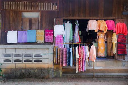 Clothing style of Tai-yai, hanging the show. Reklamní fotografie