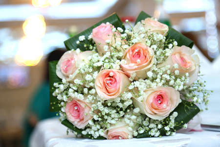 Wedding details white wedding and engagement flower bouquet stock stock photo wedding details white wedding and engagement flower bouquet beautiful wedding bouquet with different flowers roses mightylinksfo