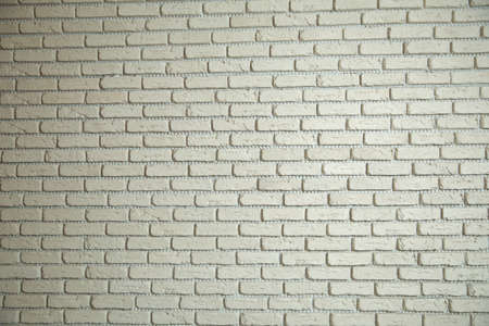 White brick wall background in rural room. Texture background concept: white brick wall background in rural room Stok Fotoğraf