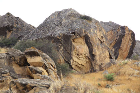 Gobustan National Park. Gobustan National Park, the oldest settlement in Azerbaijan, is protected by unesco. Gobustan, Azerbaijan.