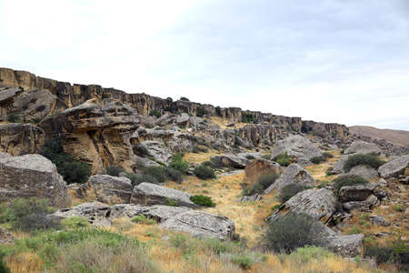 Gobustan National Park. Gobustan National Park, the oldest settlement in Azerbaijan, is protected  . Gobustan, Azerbaijan.
