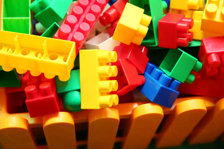 block pieces can be assembled and connected in many ways, to construct objects vehicles, and buildings. Anything constructed can then be taken apart again, and the pieces used to make other object.