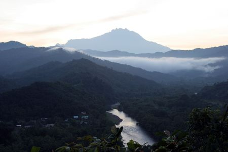 borneo: Mount Kinabalu Borneo malaysia Stock Photo