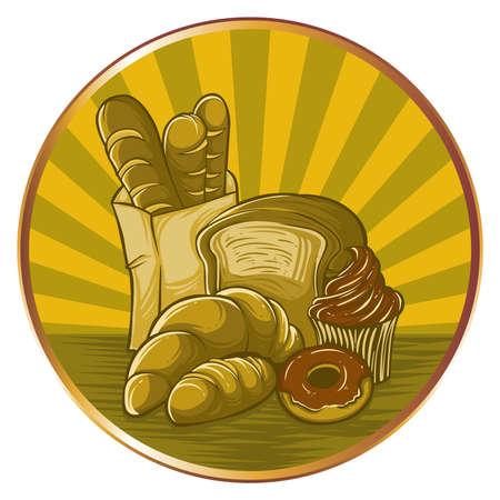 thresh: conjunto de pan elemento de dise�o logo