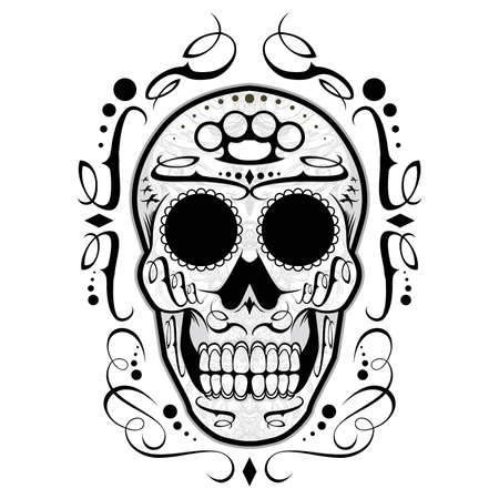 knuckle:  Sugar Skull