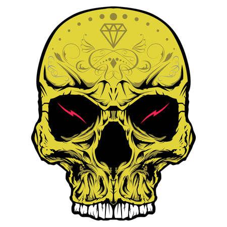 pandilleros: Cr�neo ornamento de cabeza