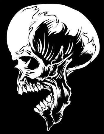 hydro: Skull Blakist Side Illustration