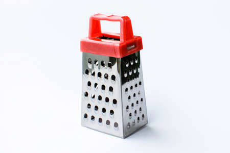 metal grater: Metal grater isolated on white background