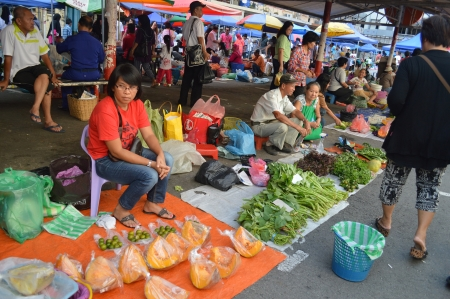 street market: Morning Street Market Editorial