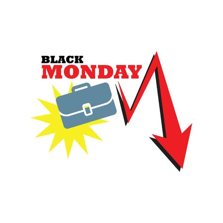 Black Monday Graphic