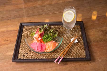 sashimi set photo