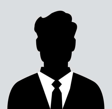 Unknown male person illustration