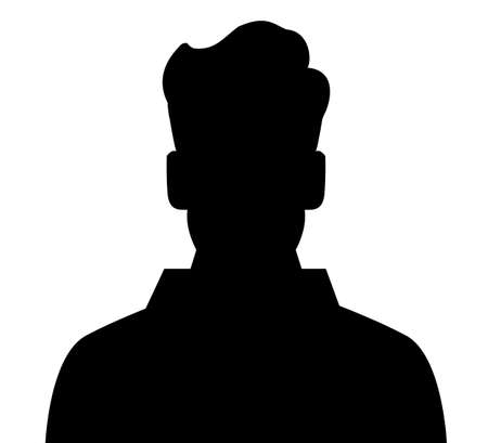 unnamed: Unknown male person illustration