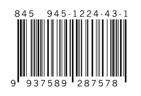 ean: barcode on white background