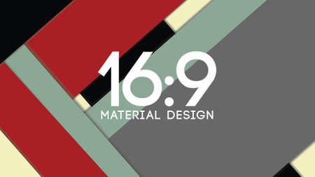 modern material: Background Unusual modern material design. Format 16:9
