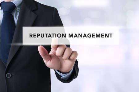 reputation: REPUTATION MANAGEMENT CONCEPT Stock Photo