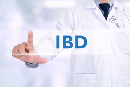 necrosis: IBD - Inflammatory Bowel Disease. Medical Concept