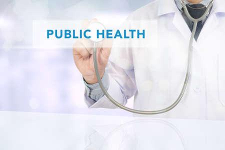 salud publica: CONCEPTO DE LA SALUD P�BLICA Foto de archivo