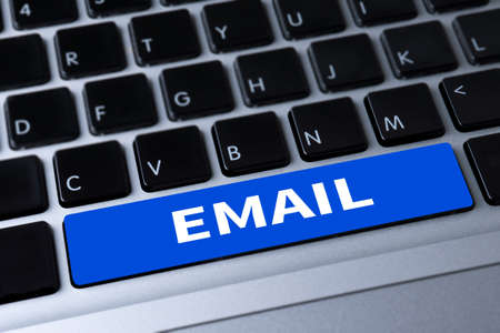 gmail: EMAIL a message on keyboard Stock Photo
