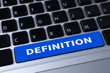 DEFINITION CONCEPT un message sur le clavier