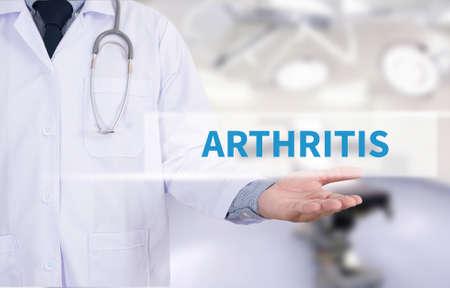 ARTHRITIS Medicine doctor hand working