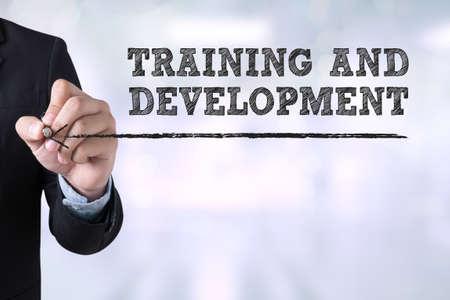 抽象的な背景をぼかした写真のリンク先ページを描画トレーニング ・開発コンセプト実業家