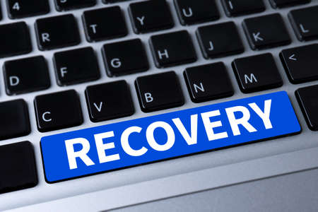 data recovery: RECOVERY (Recovery Backup Restoration Data) a message on keyboard