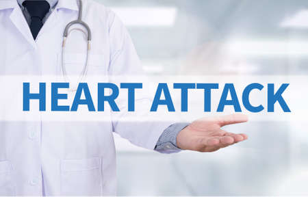 palpitations: HEART ATTACK Medicine doctor hand working