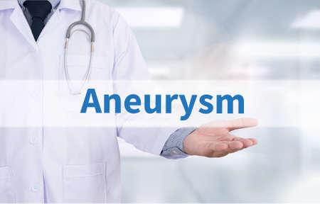 dilate: Aneurysm Medicine doctor hand working