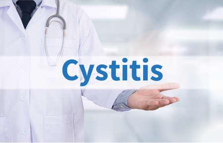 urination: Cystitis Medicine doctor hand working