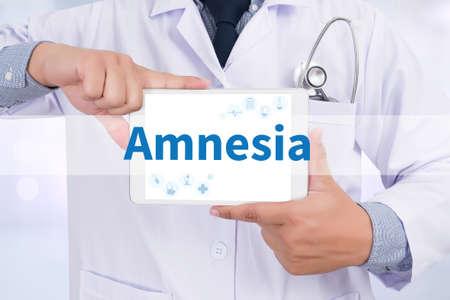 thiamine: Amnesia Stock Photo