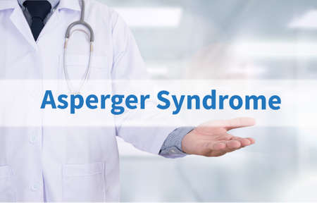 asperger syndrome: Asperger Syndrome Medicine doctor hand working
